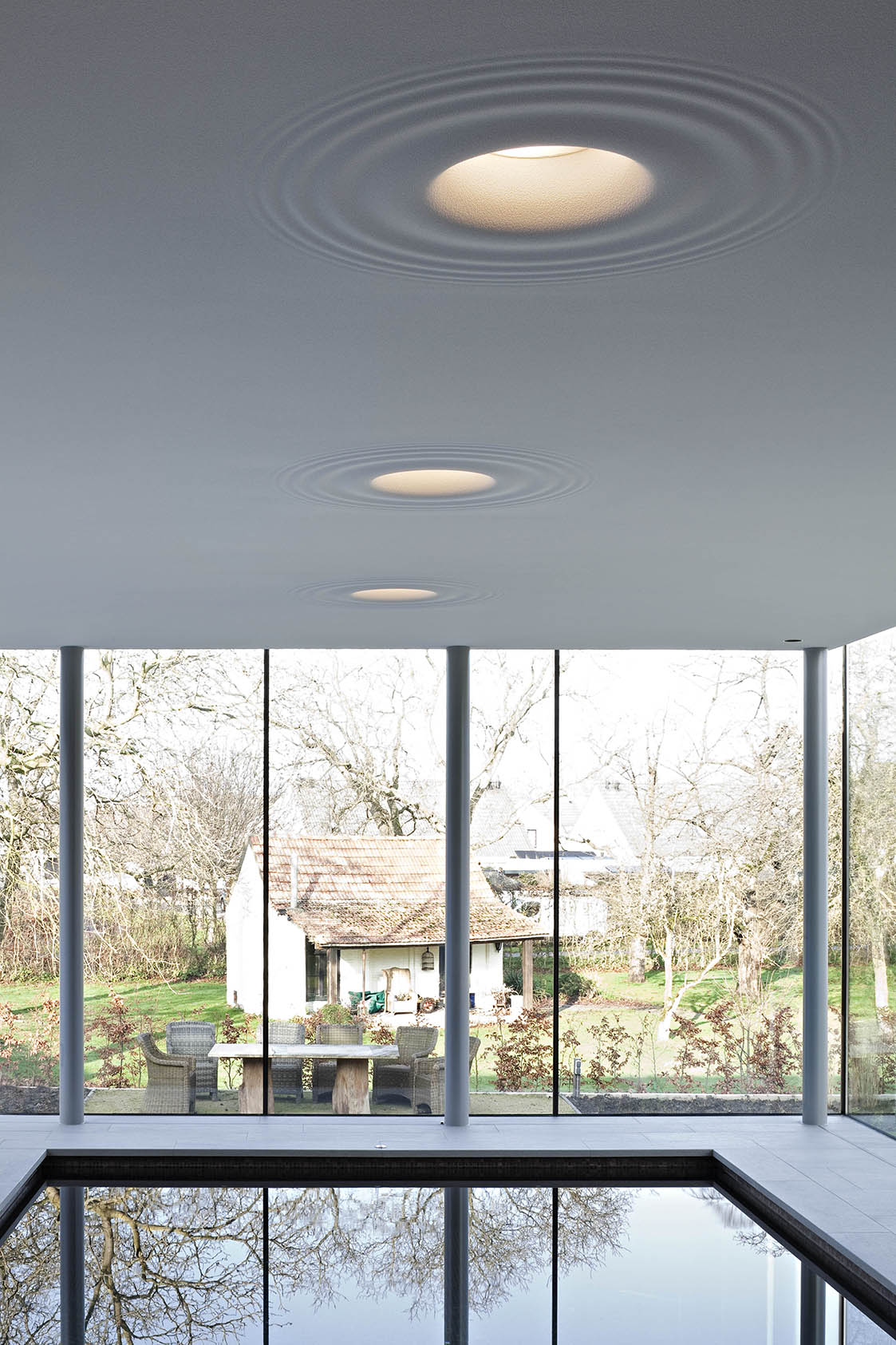 Teardrop Lights Integrated Ceiling Light